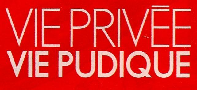 Vie privée, vie pudique